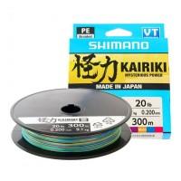 Shimano Kairiki 8 Braided Line 300m Multicolor