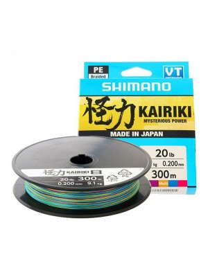 Shimano Kairiki 8 Braided Line 300m Multicolor